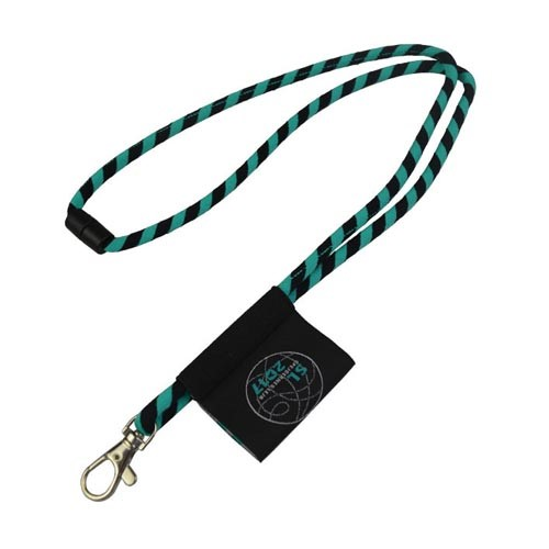 Jacquard Lanyard with woven label