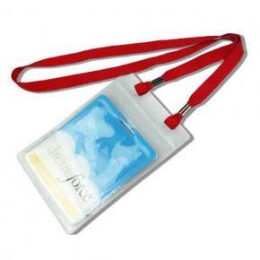 Lanyard with PVC Badge Holder