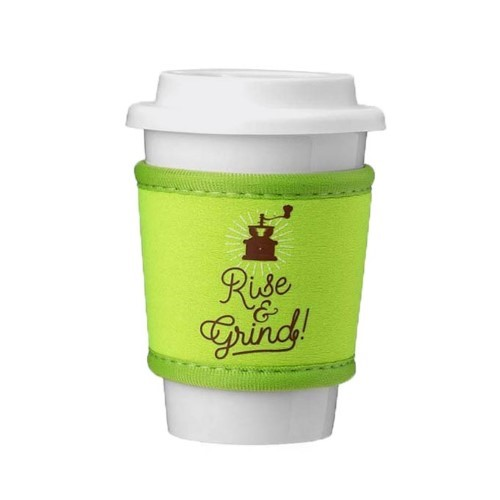 Logo Coolie Cup Holder Sleeve Fitting Plastic Cups