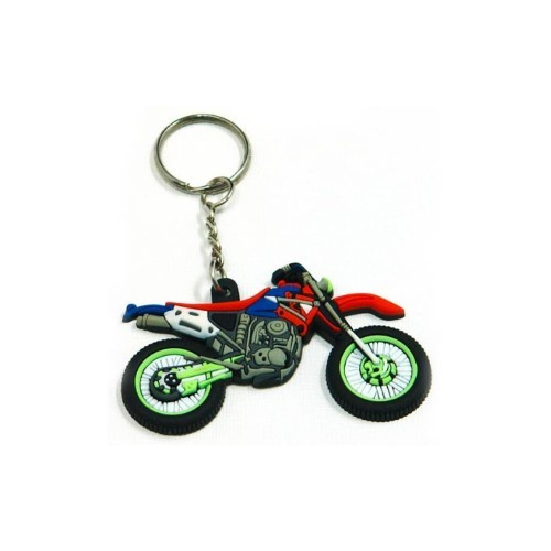 Motorcycle PVC Key Ring