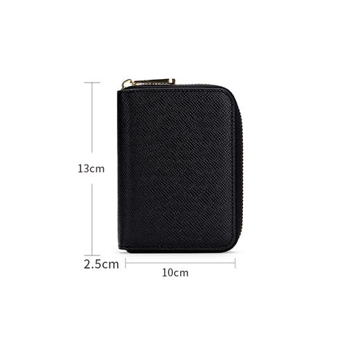 Mens Zip card holder