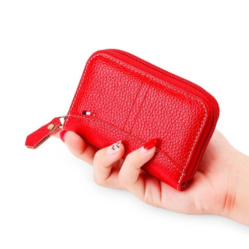 Credit Card Wallet Zipper Card Cases Holder
