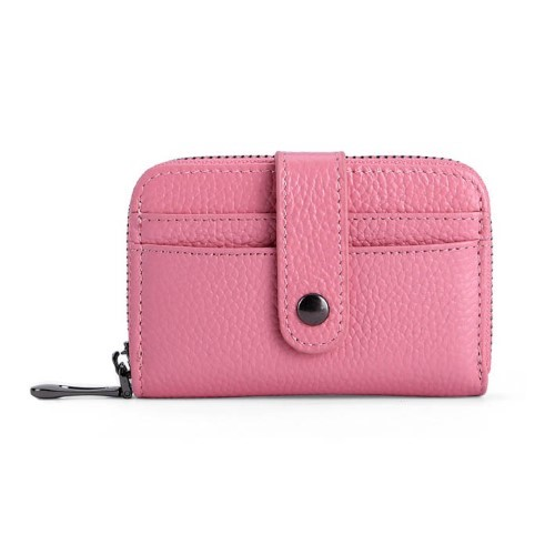 Zipper Business Card Holder with Flap