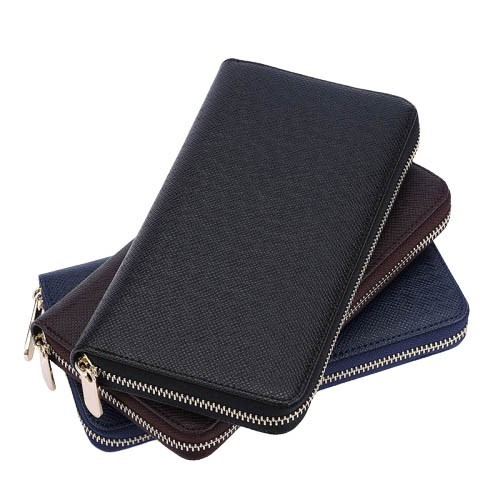 Long Zip Credit Card Holder with mutiples slots
